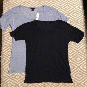 EUC / New JCREW lightweight super soft t shirt